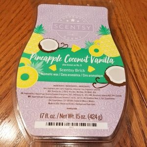 Scentsy Wax Brick - Pineapple, Coconut and Vanilla